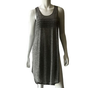 Other - Heather Gray Side Slit Swim Cover Up
